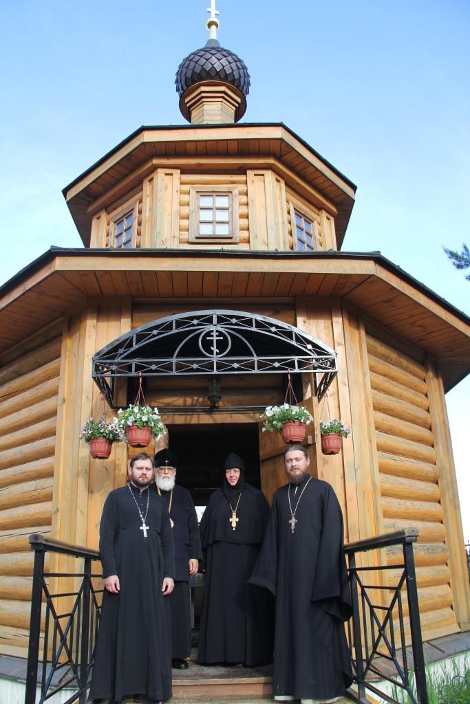 Владыка Виктор, митрополит Тверской и Кашинский, посетил подворье нашего монастыря