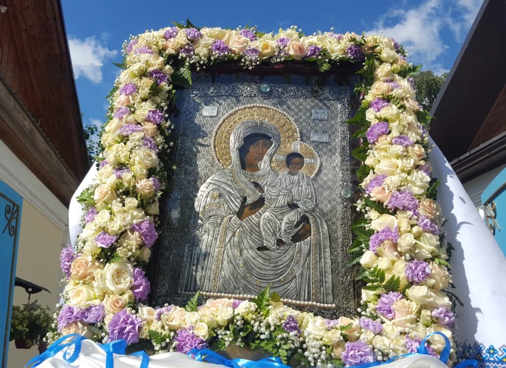 Образ Пресвятой Богородицы Смоленской Одигитрия