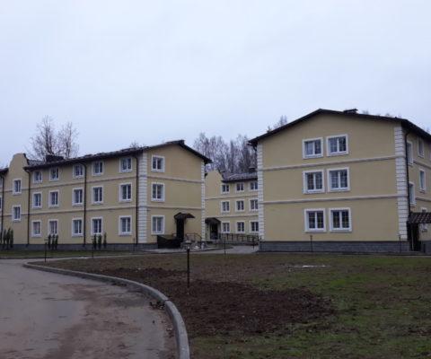 Строительство корпусов для социальной гостиницы «Дочки-Матери»