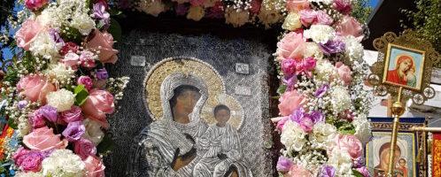 Престольный праздник монастыря — день Пресвятой Богородицы Смоленская «Одигитрия»